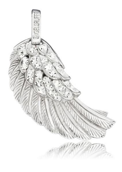 Ketten für Frauen - Engelsrufer Anhänger ohne Kette mit Kristallsteinen 'Flügel Crystal, ERW 01 ZI' silber  - Onlineshop ABOUT YOU