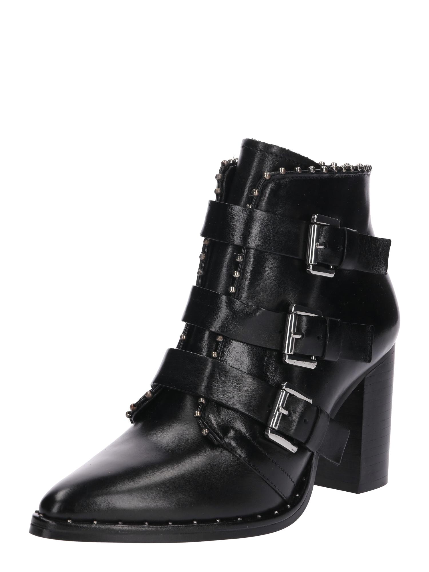 Kotníkové boty Huball černá SPM