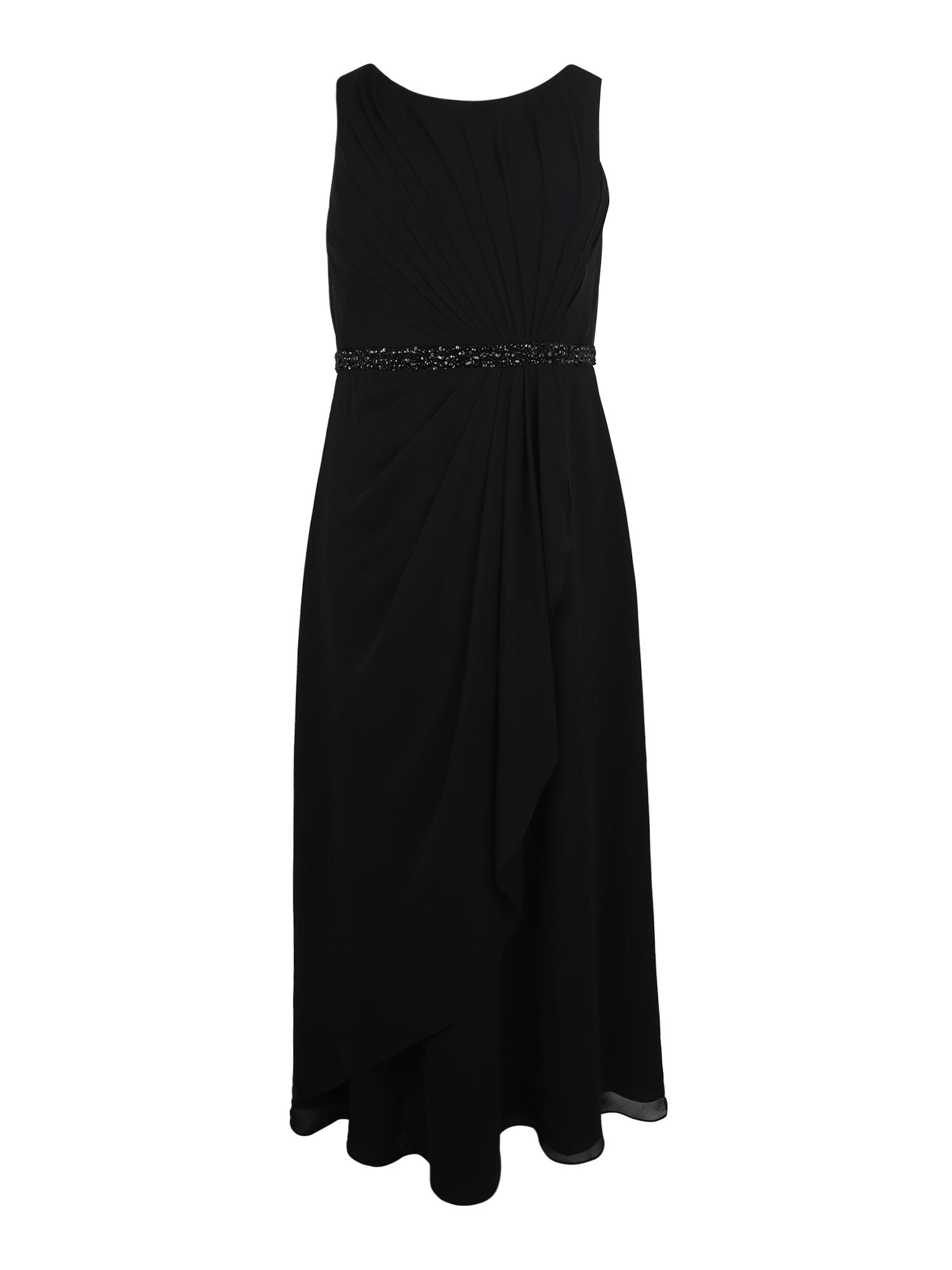 Společenské šaty černá My Mascara Curves