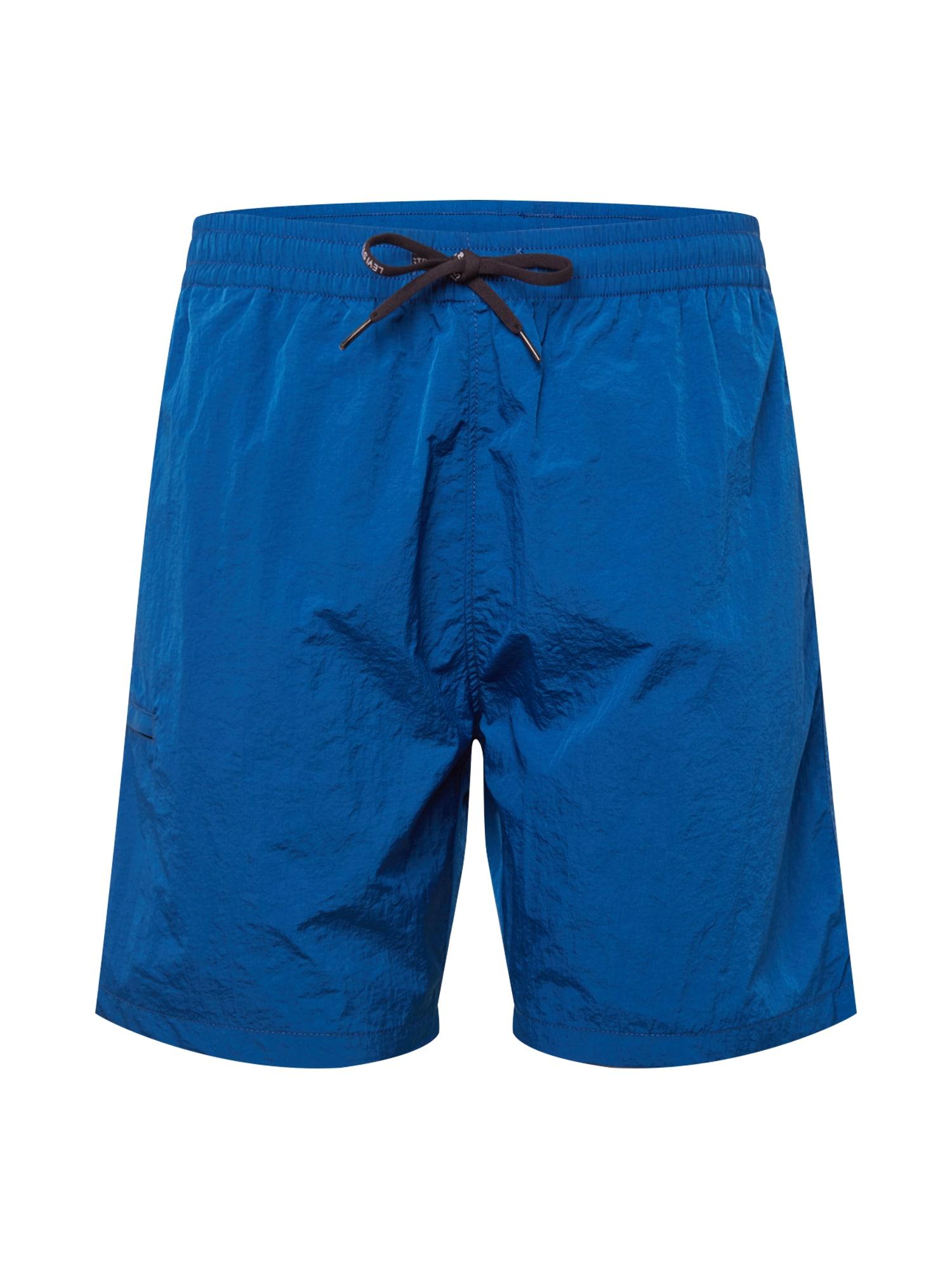 LEVI'S Kelnės 'LINEDWALKSHORT' tamsiai (džinso) mėlyna