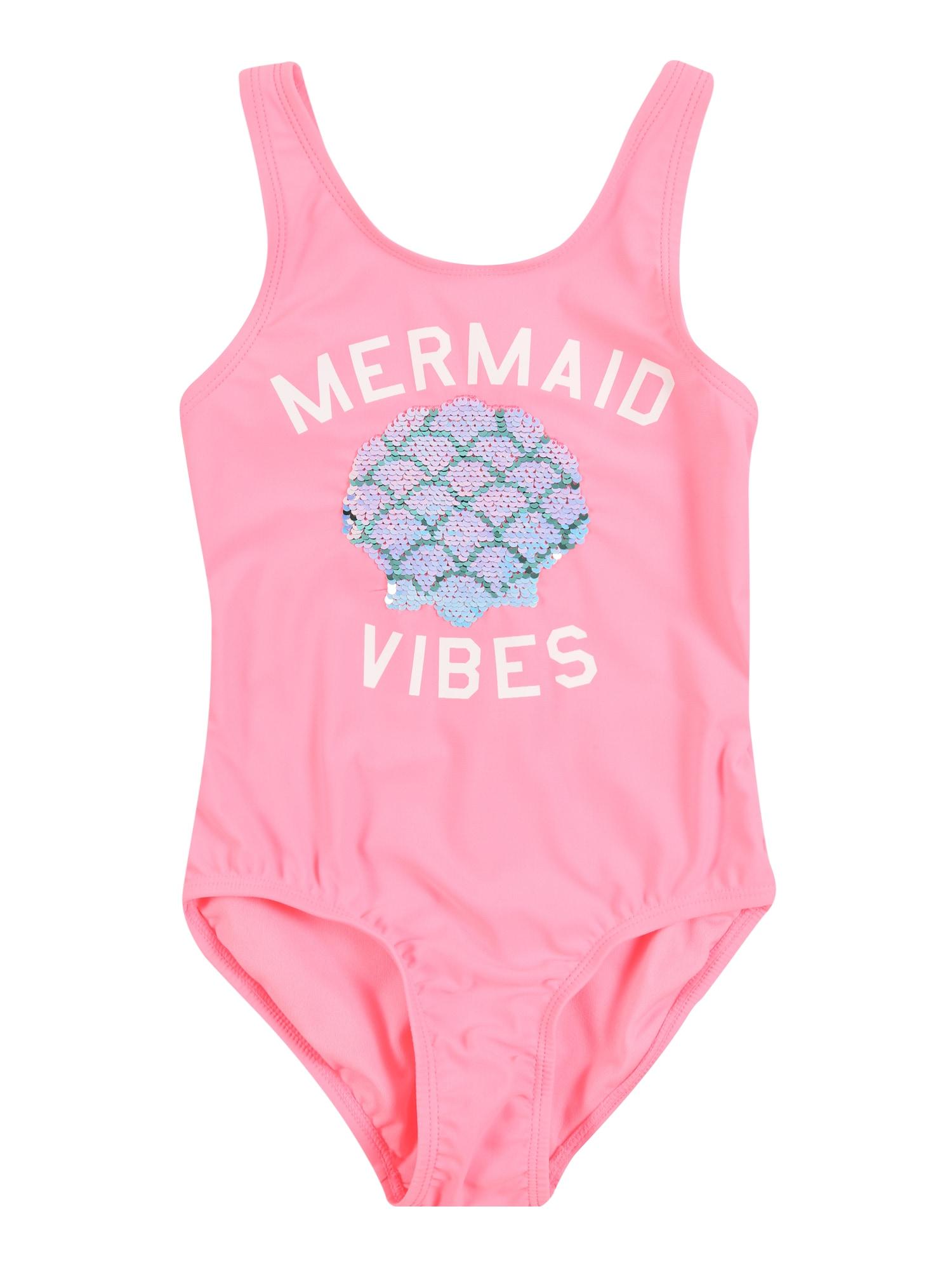 GAP Maudymosi kostiumėlis 'FLP MERMAID ' neoninė rožinė