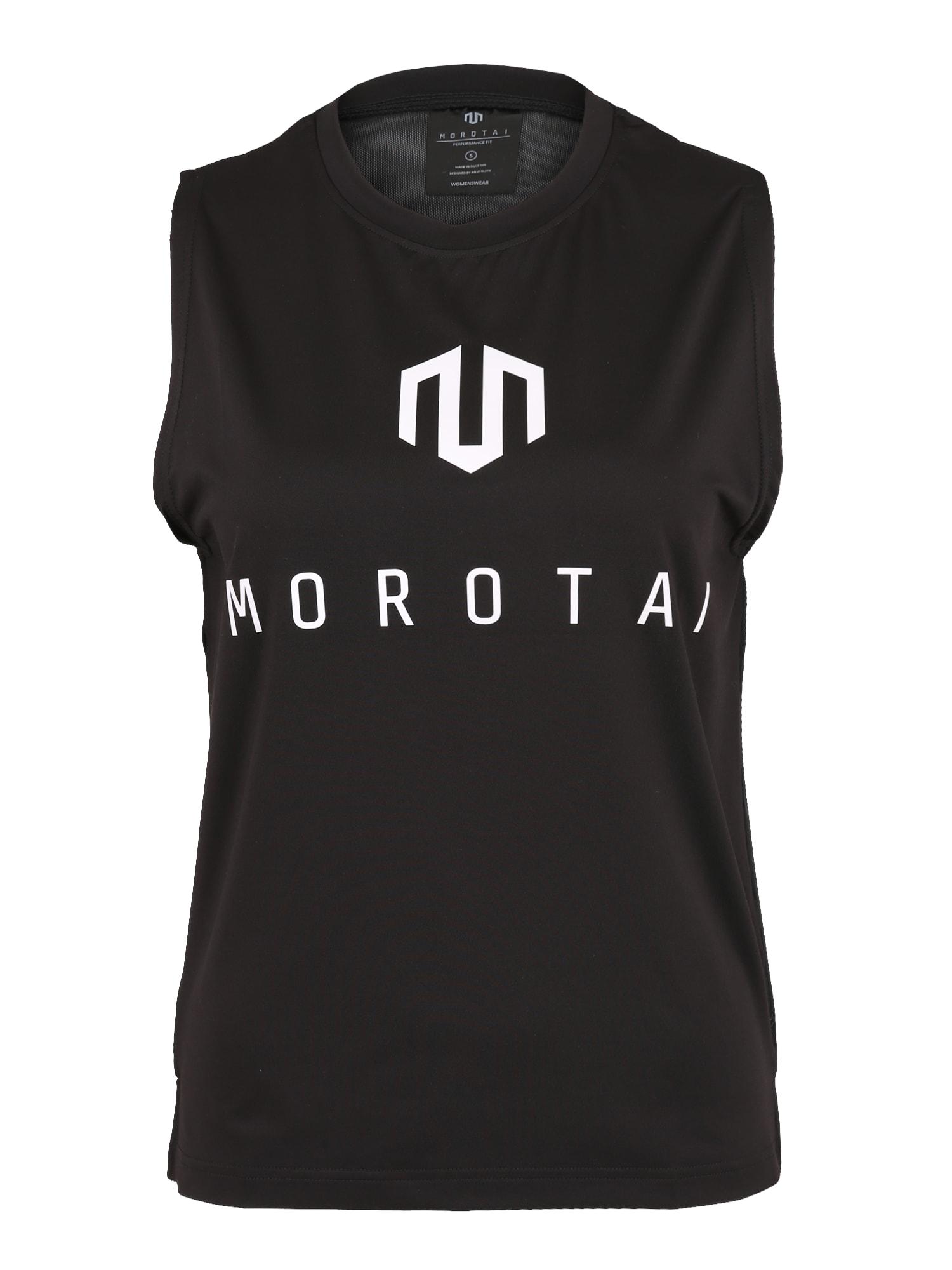 Sportovní top NAKA Performance Mesh Back černá bílá MOROTAI