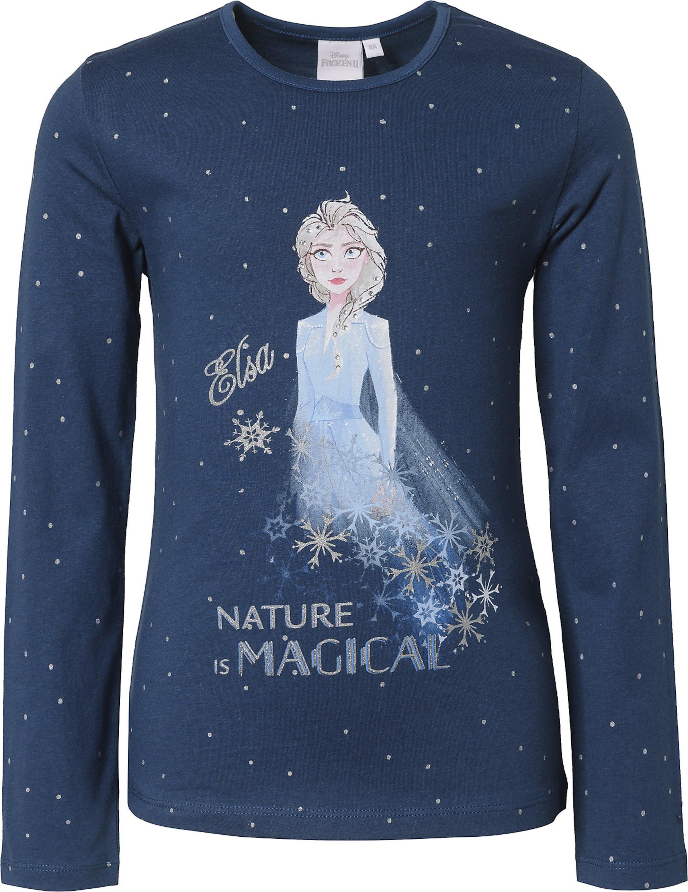 Kinder,  Mädchen,  Kinder Disney Shirt 'Die Eiskönigin' blau,  pink,  silber   03609084122973