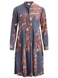 VILA Damen casual Kleid VIPIMA blau,rot | 05713780623578