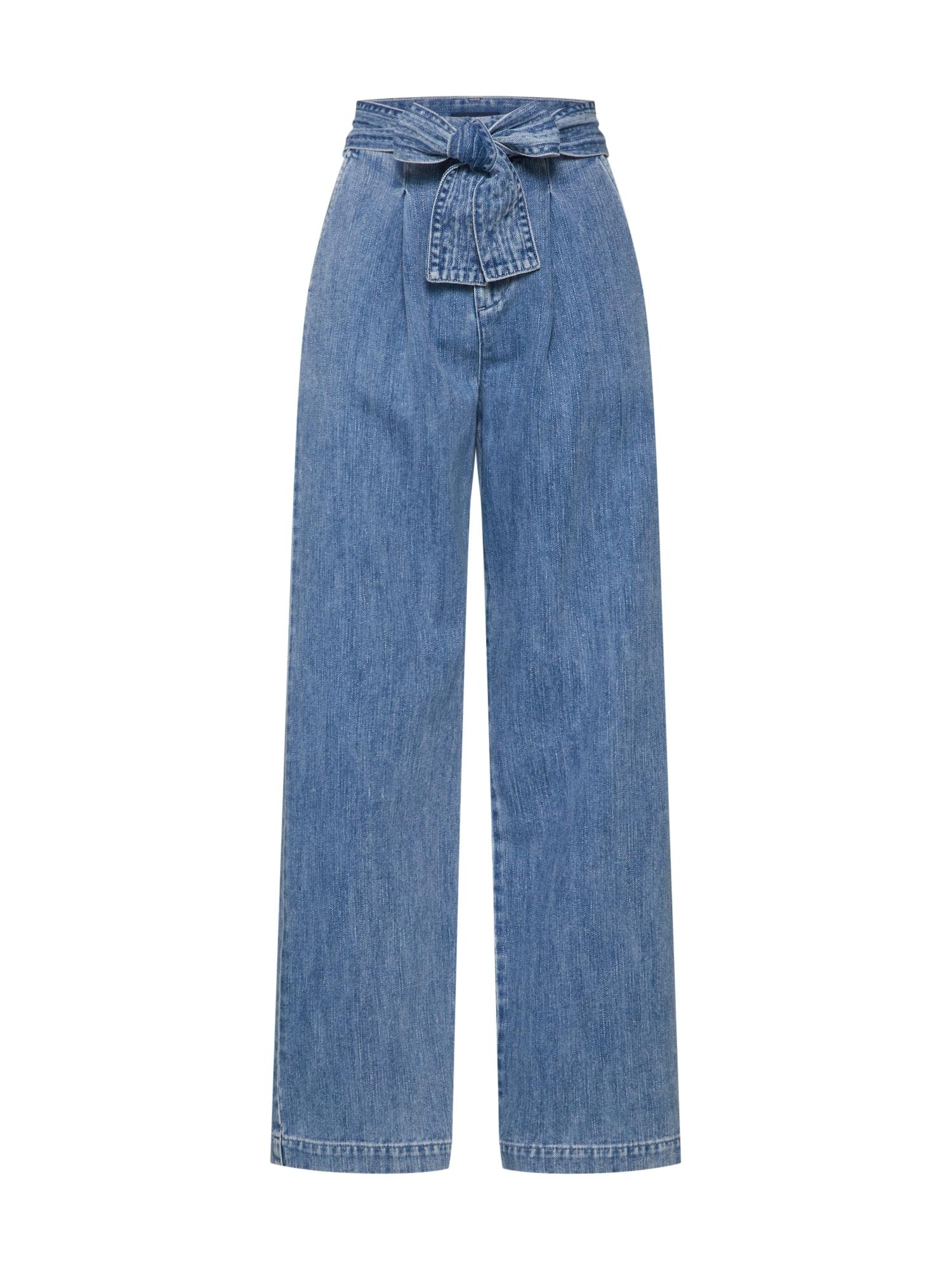 Levis Made & Crafted Džíny LMC Tie Trousers modrá džínovina Levi's Made & Crafted