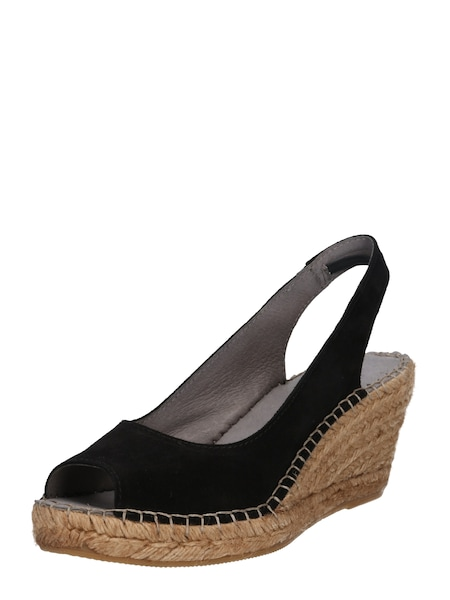 Highheels - Sandale 'Dot' › PAVEMENT › beige schwarz  - Onlineshop ABOUT YOU