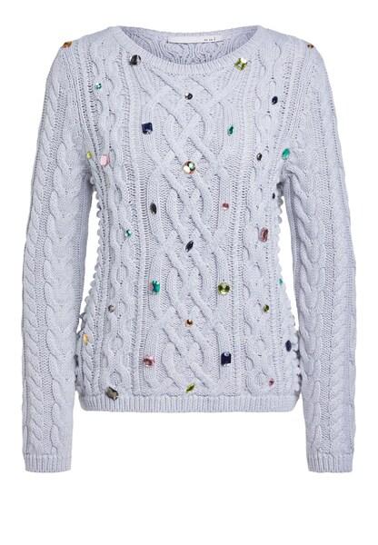 Oberteile für Frauen - OUI Pullover grau  - Onlineshop ABOUT YOU