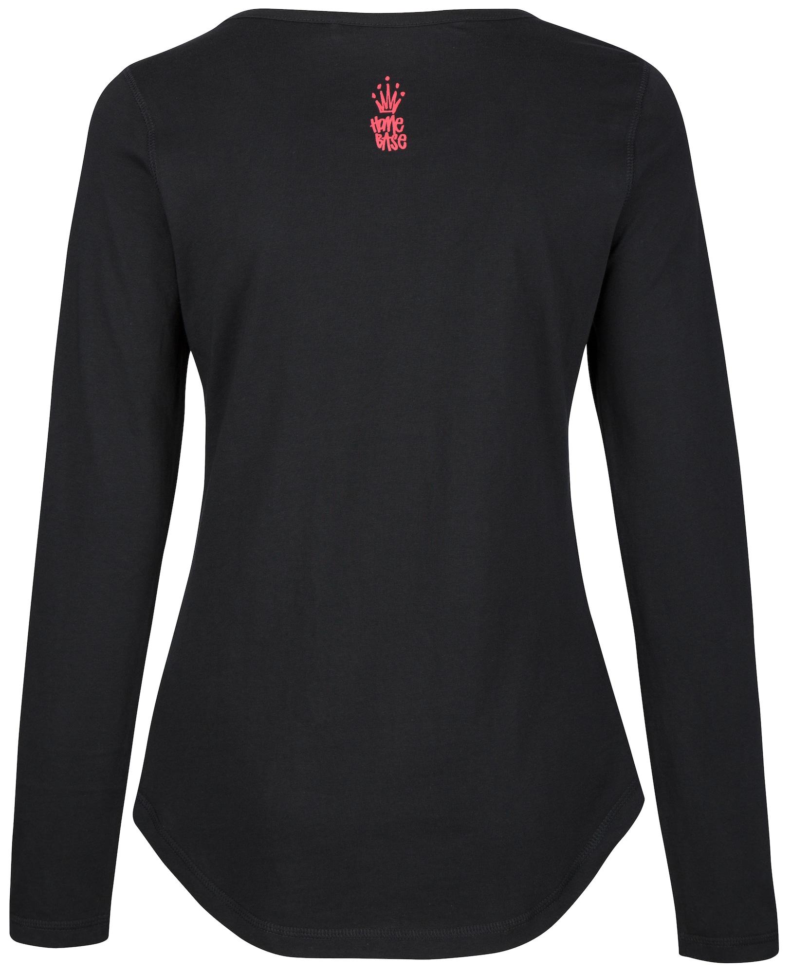HOMEBASE, Damen Shirt Brandalised by Homebase, zwart