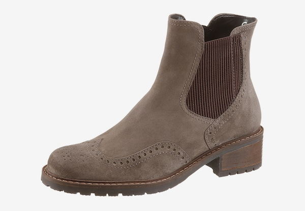 gabor chelsea boot in taupe about you. Black Bedroom Furniture Sets. Home Design Ideas