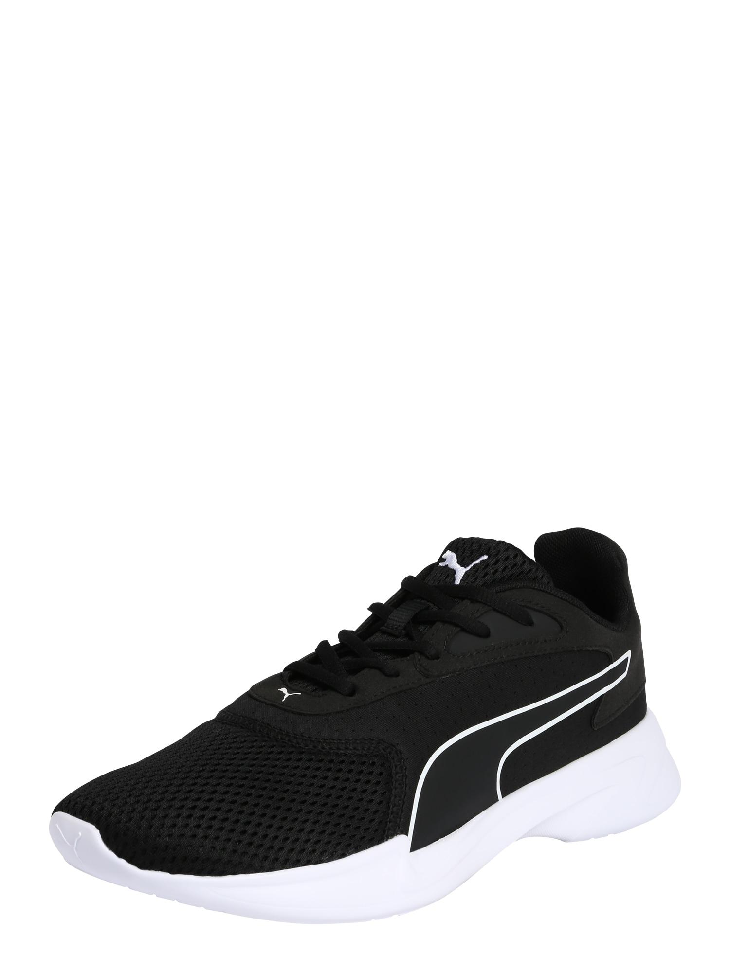 PUMA Bėgimo batai 'Jaro' balta / juoda