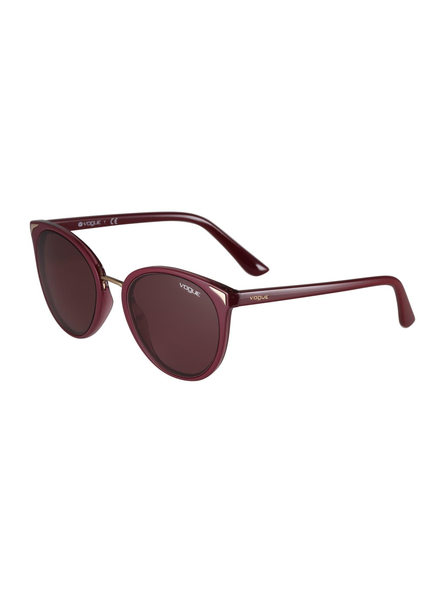 VOGUE Eyewear Akiniai nuo saulės kraujo spalva