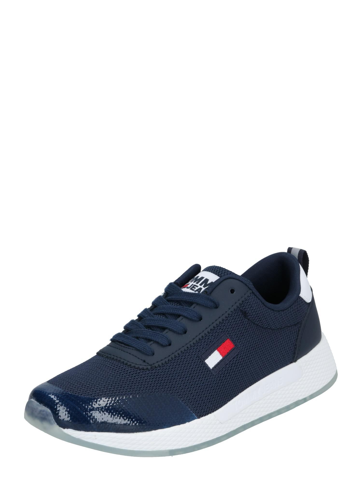 Tommy Jeans Tenisky  tmavě modrá / bílá