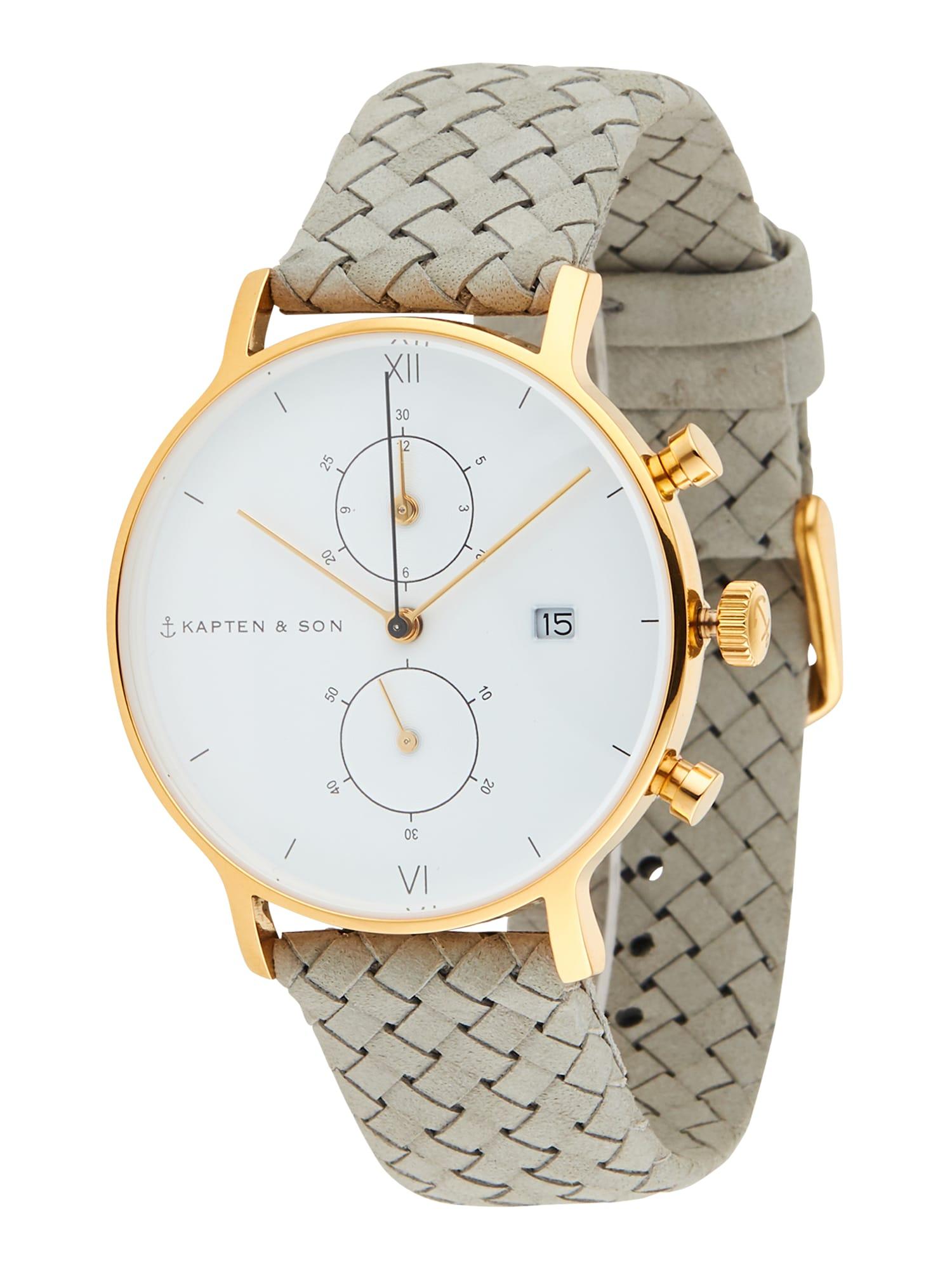Kapten & Son Analoginis (įprasto dizaino) laikrodis pilka