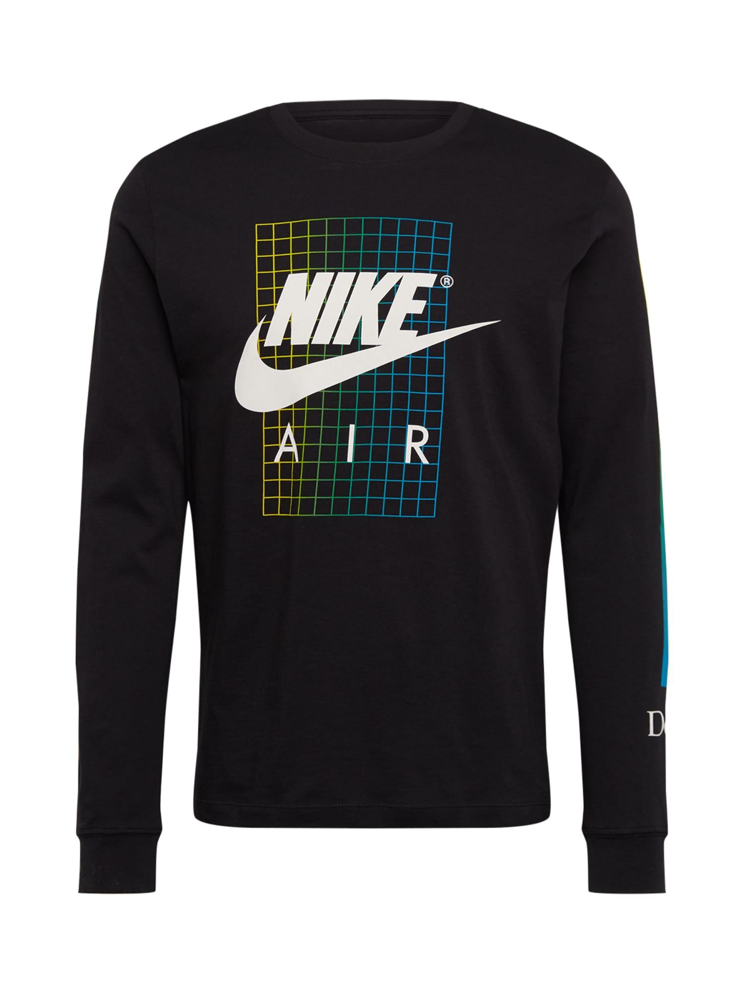 Nike Sportswear Marškinėliai mišrios spalvos / juoda / balta