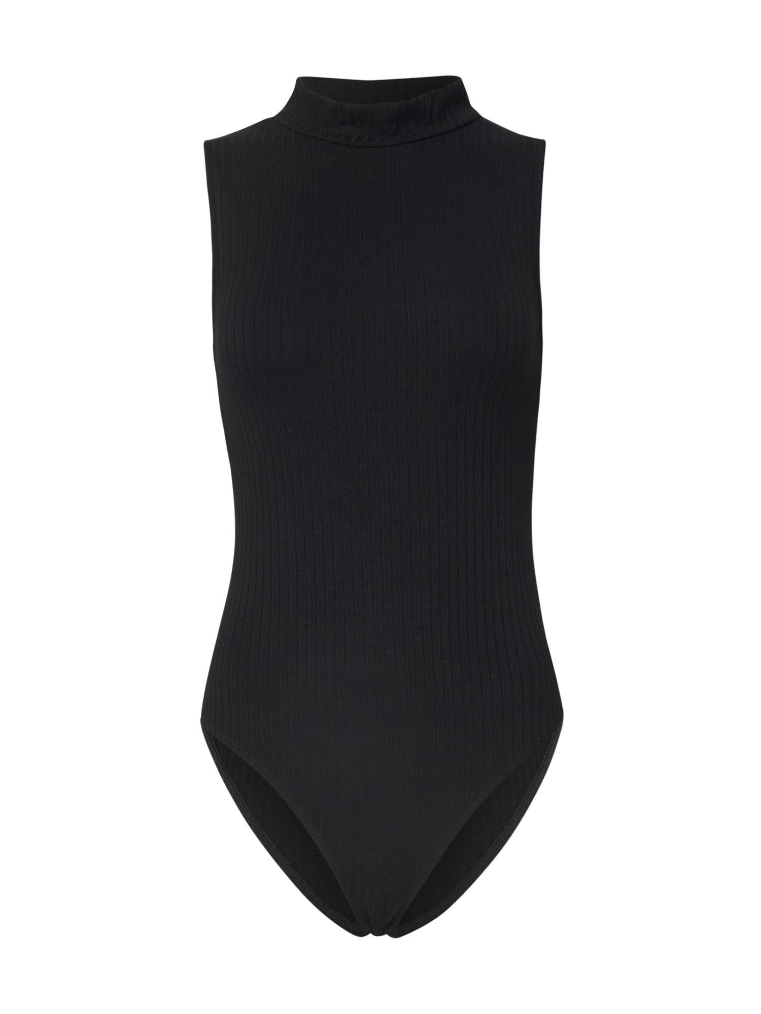 EDITED Marškinėliai-glaustinukė 'Malina' juoda