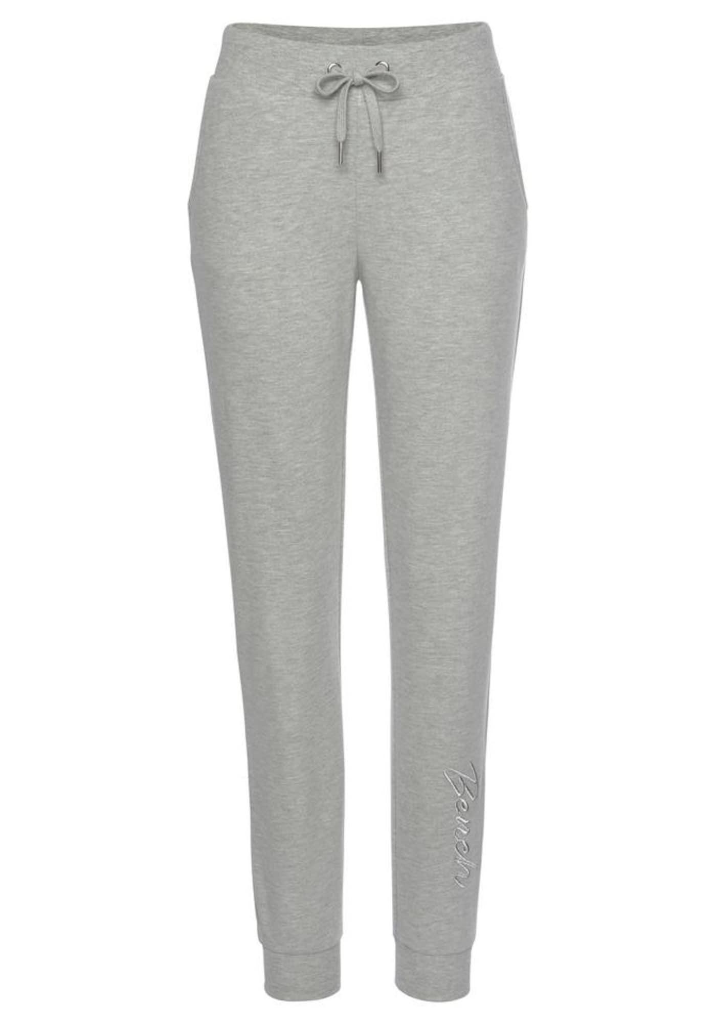 BENCH Kelnės margai pilka