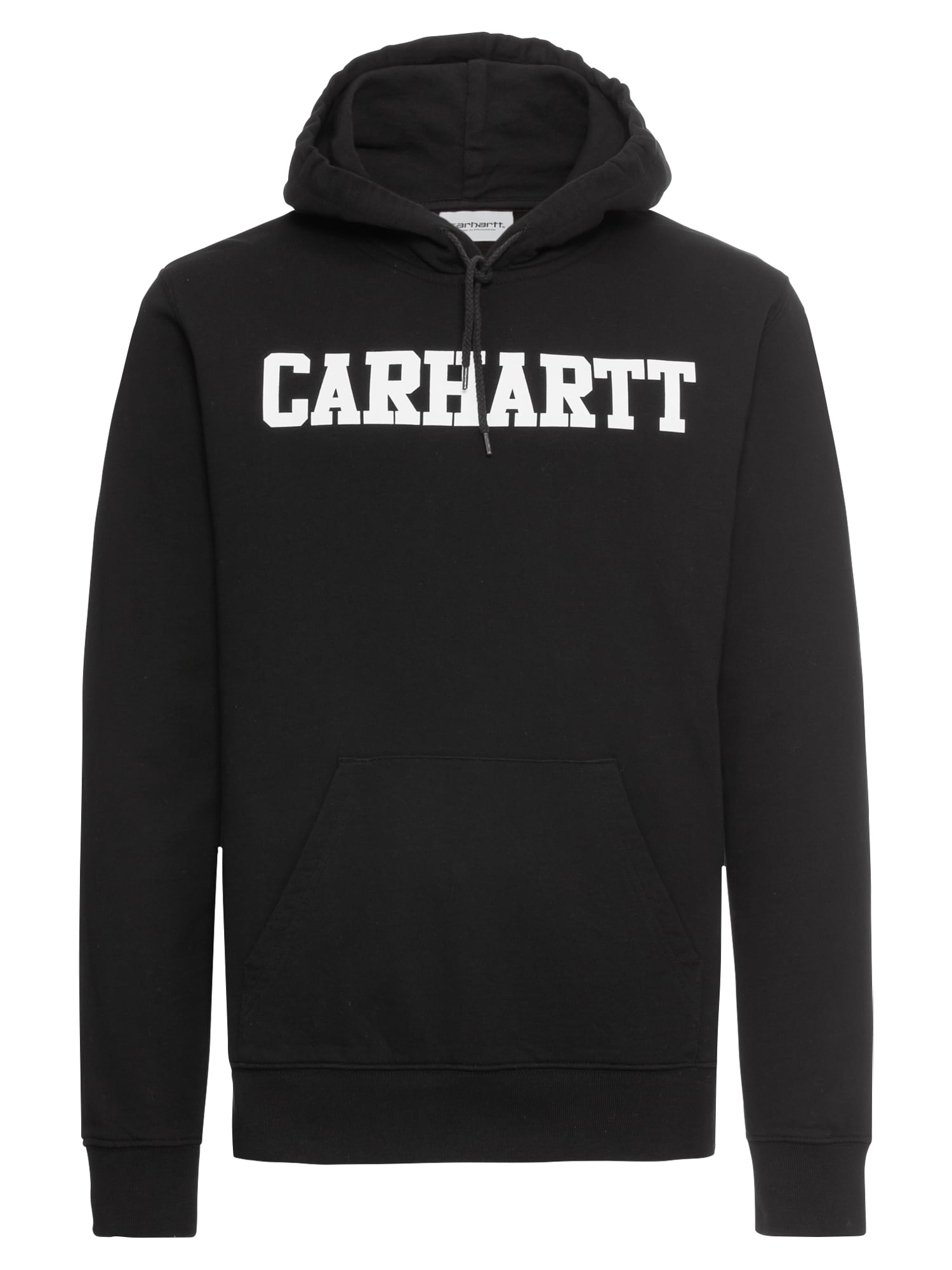 Mikina Hooded College Sweat černá bílá Carhartt WIP