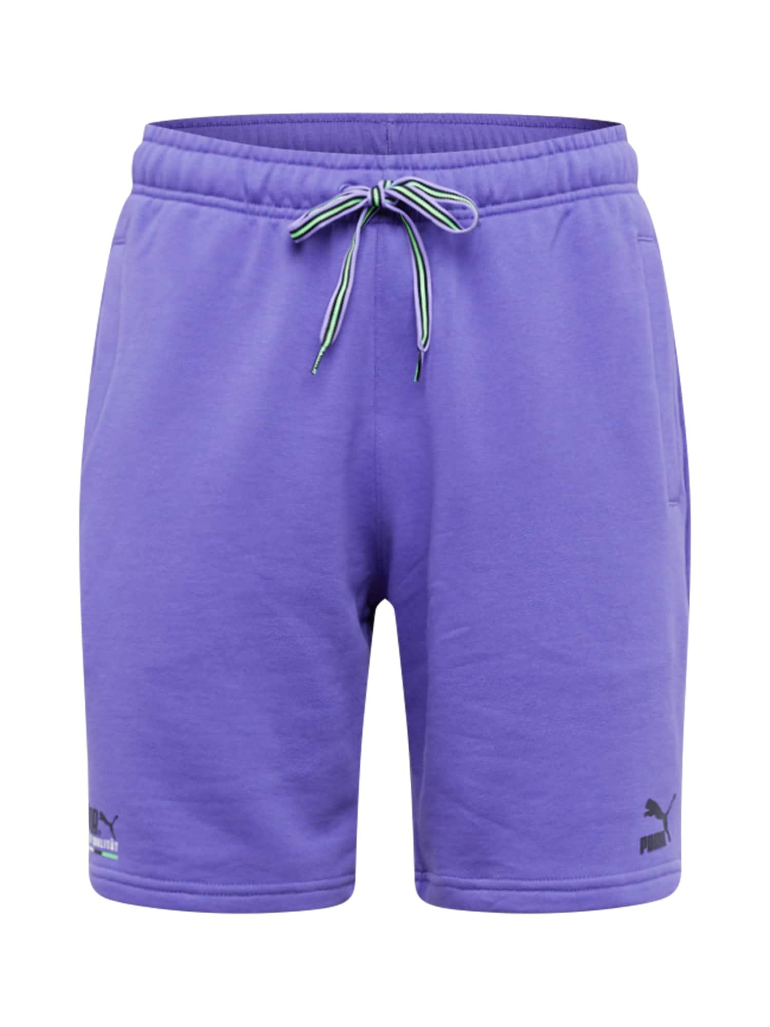 PUMA Kalhoty  světle fialová / černá