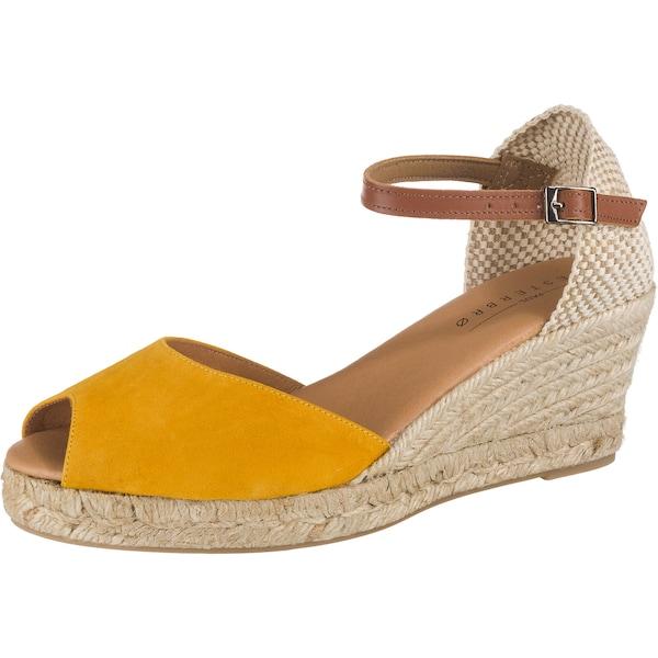 Highheels - Sandaletten › Paul Vesterbro › senf  - Onlineshop ABOUT YOU