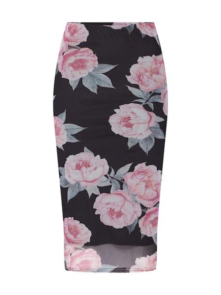 Roecke für Frauen - NEW LOOK Rock 'GO PEARL BLOOM MESH INSERT SKATER' rosa schwarz  - Onlineshop ABOUT YOU