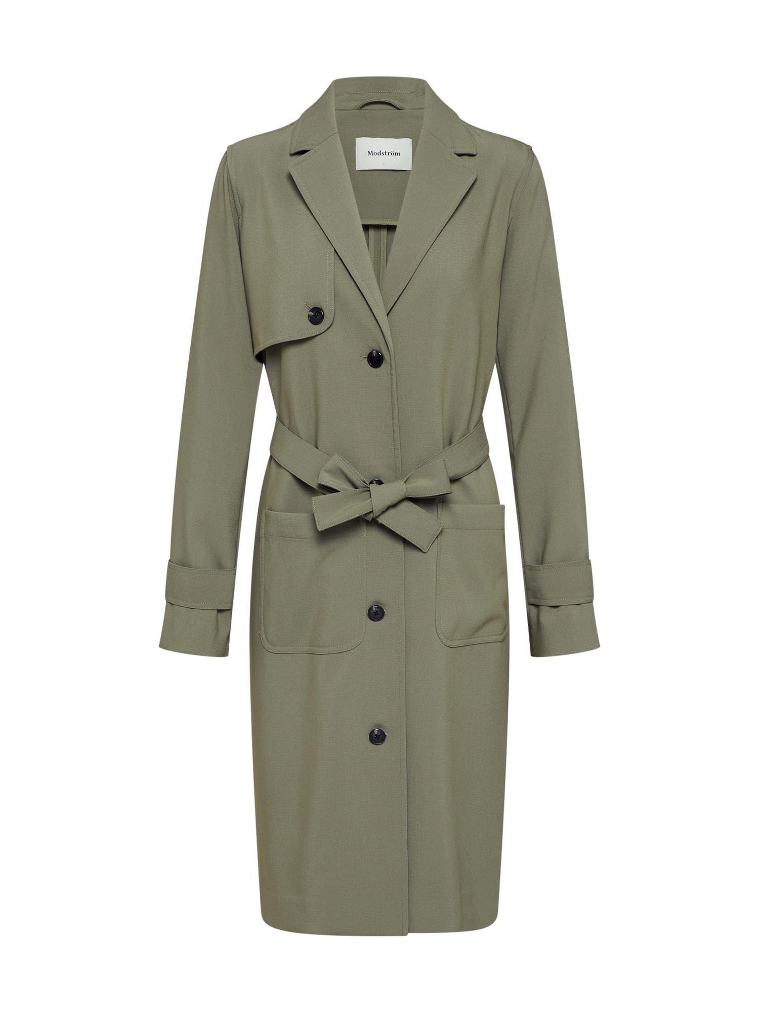 modström Rudeninis-žieminis paltas 'Ramona' rusvai žalia