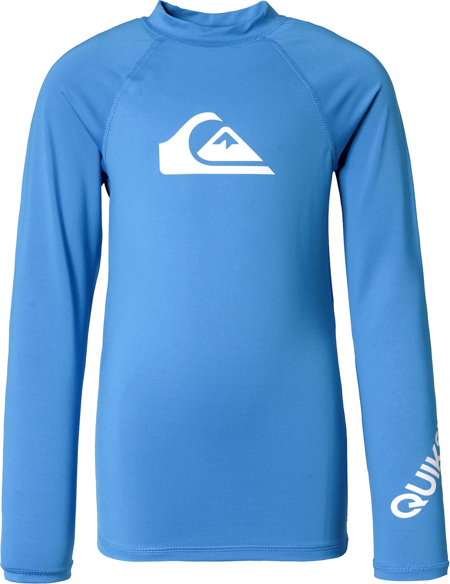 QUIKSILVER Sportinis maudymosi kostiumėlis mėlyna / balta