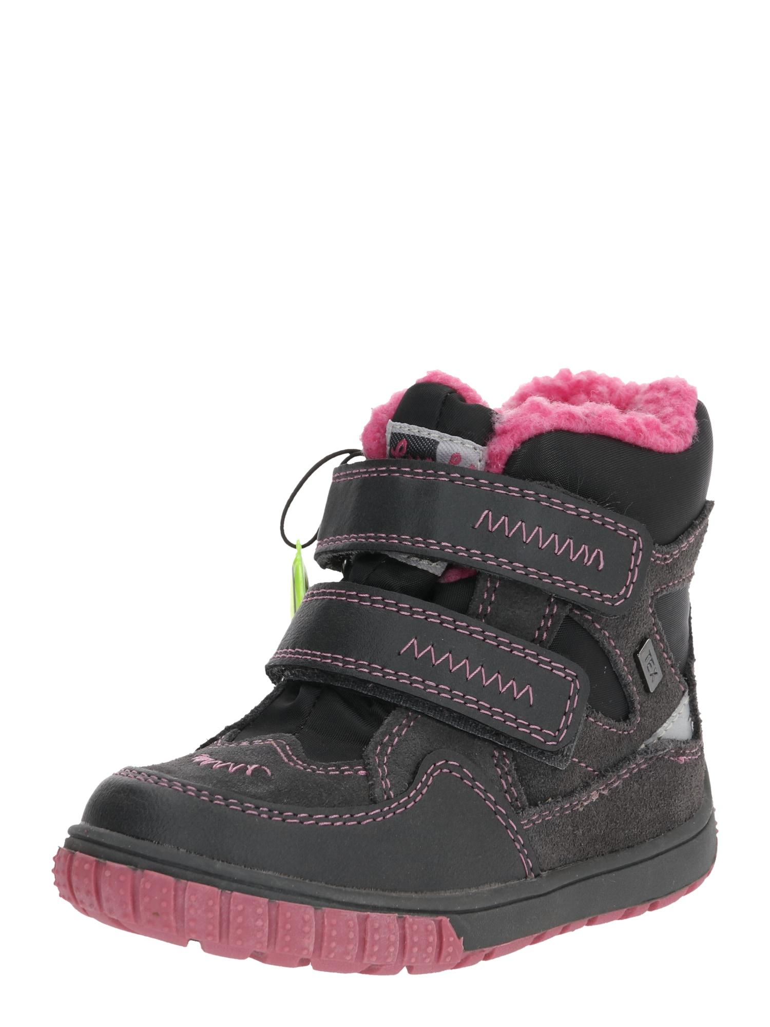 LURCHI Sniego batai pilka / rožinė