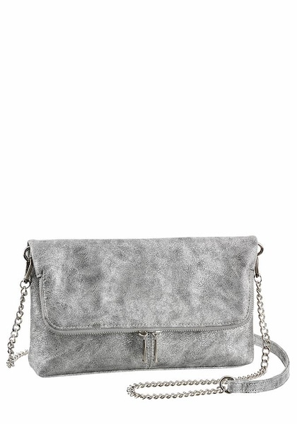 Clutches für Frauen - LAURA SCOTT Clutch silber  - Onlineshop ABOUT YOU