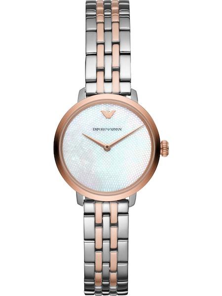 Uhren für Frauen - Emporio Armani Uhr rosegold silber  - Onlineshop ABOUT YOU