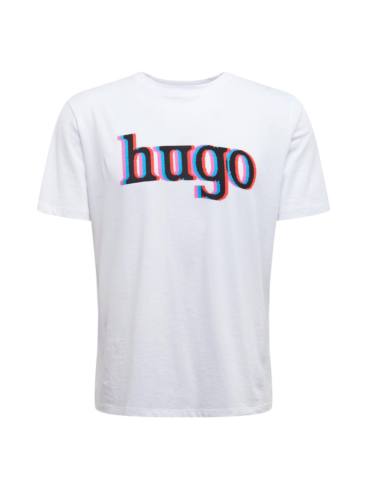 HUGO Tričko 'Dontrol'  biela