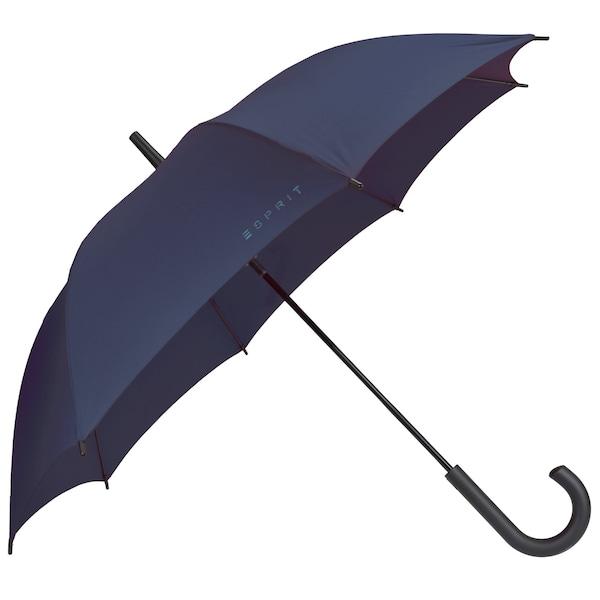 Regenschirme für Frauen - ESPRIT Long AC Stockschirm 83 cm blau  - Onlineshop ABOUT YOU