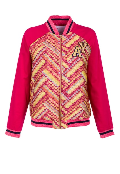 Jacken für Frauen - All Yours Bomberjacke hellblau gelb orange cranberry  - Onlineshop ABOUT YOU
