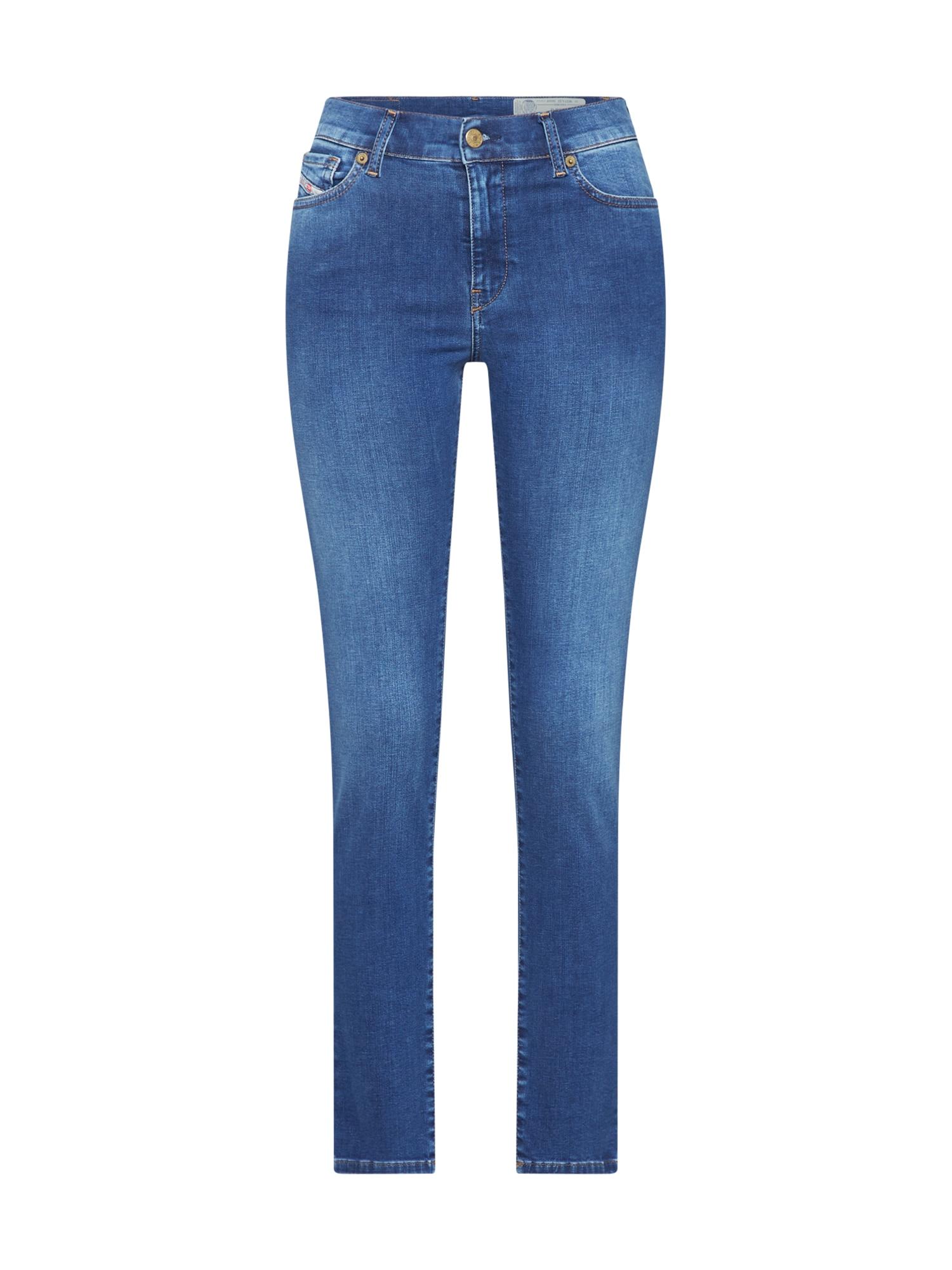 DIESEL Džinsai 'D-ROISIN' tamsiai (džinso) mėlyna