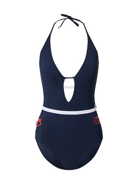 Bademode - Badeanzug 'HALTER ONE PIECE' › Tommy Hilfiger Underwear › blau  - Onlineshop ABOUT YOU