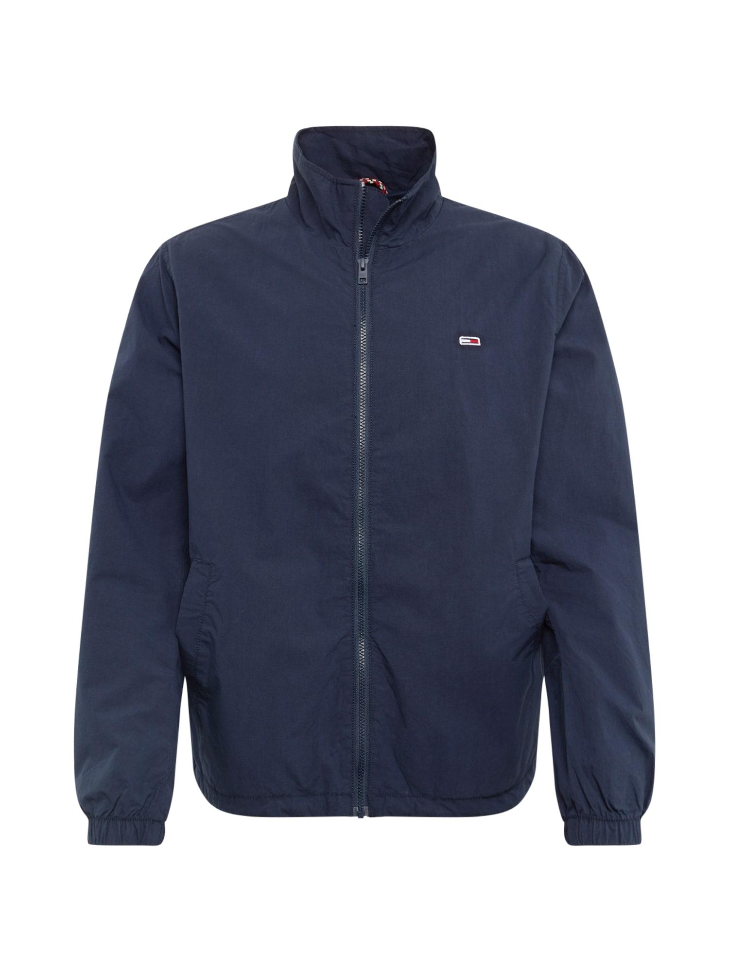 Přechodná bunda Novelty tmavě modrá Tommy Jeans