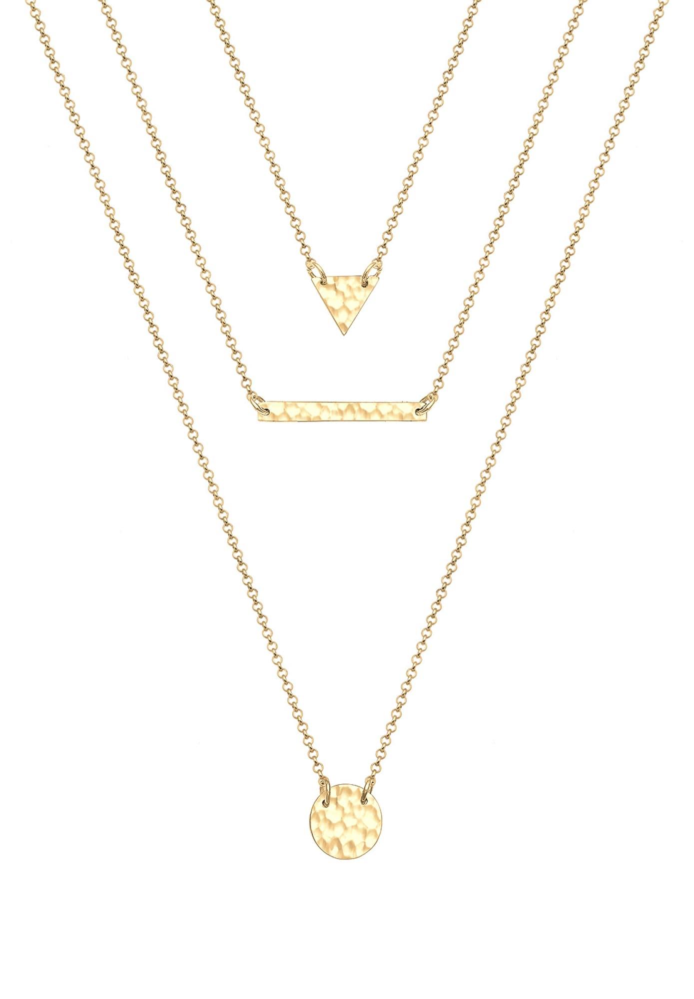 Halskette 'Layer' | Schmuck > Halsketten > Lange Ketten | ELLI