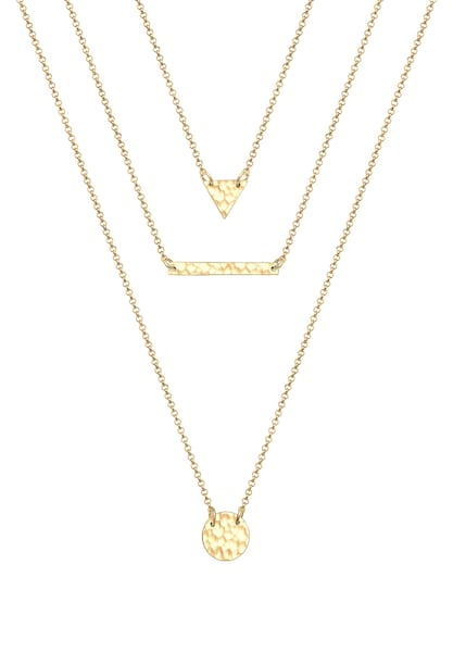 Ketten für Frauen - ELLI Halskette 'Layer' gold  - Onlineshop ABOUT YOU