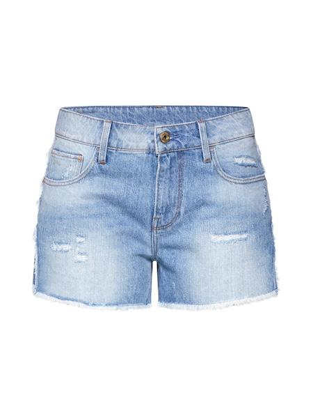 Hosen für Frauen - G STAR RAW Jeans '3301 Fringe Mid bf Short Wmn' blue denim  - Onlineshop ABOUT YOU