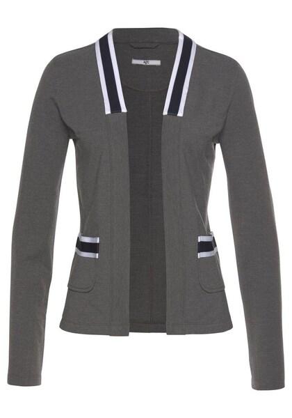 Jacken für Frauen - AJC Blusenblazer dunkelblau anthrazit weiß  - Onlineshop ABOUT YOU