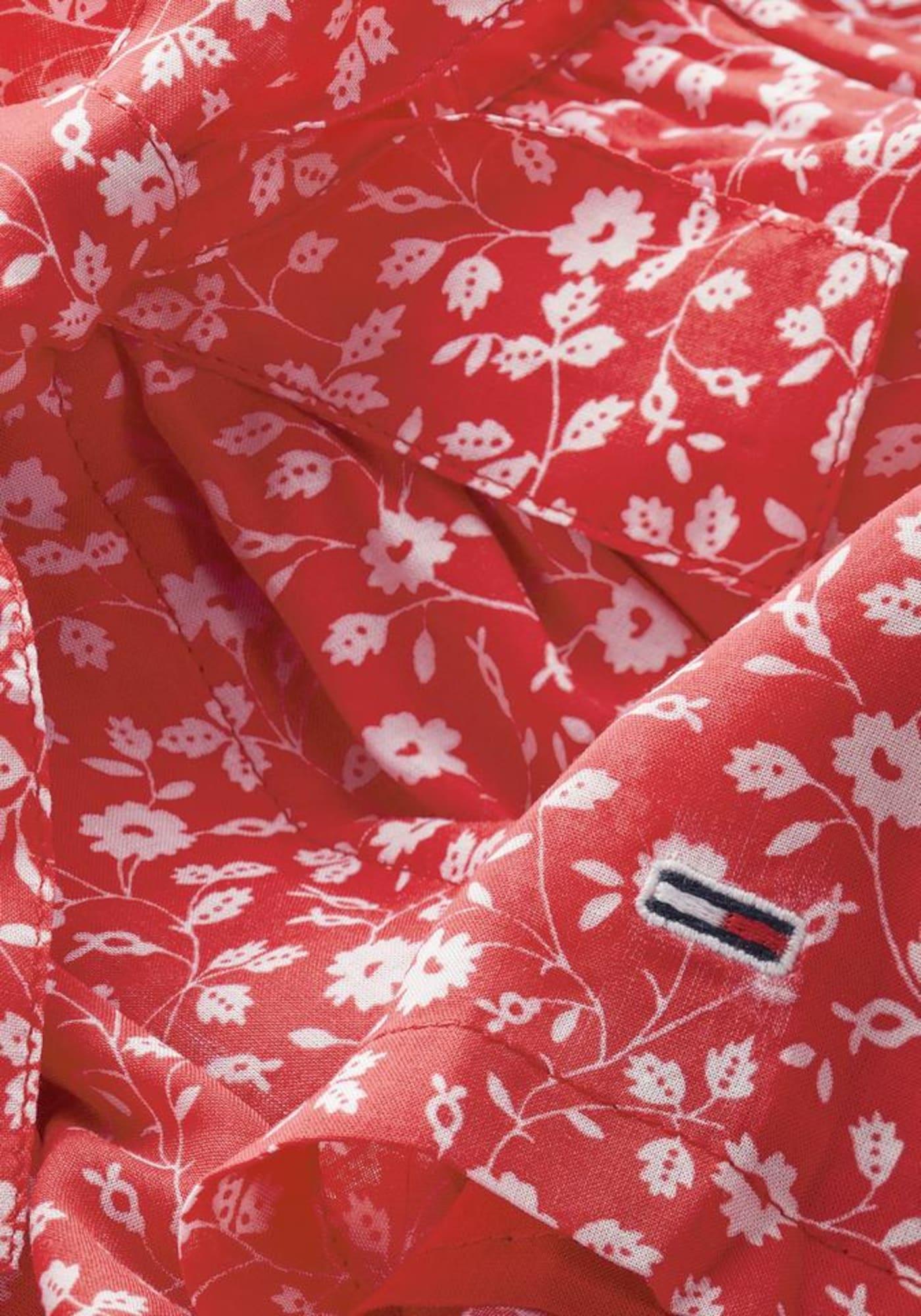 Tommy Jeans Byxa  vit / röd