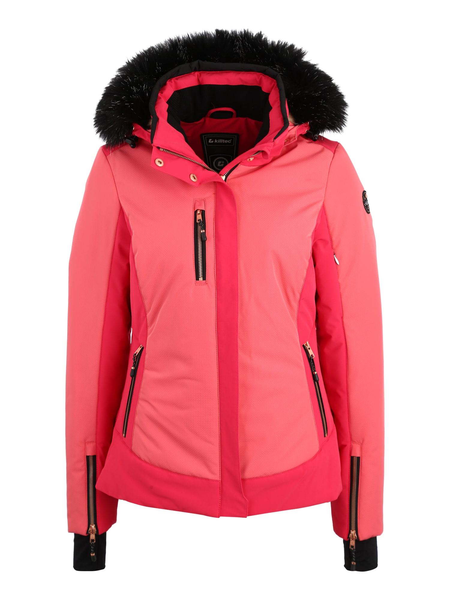 Sportovní bunda Elanora světle růžová KILLTEC