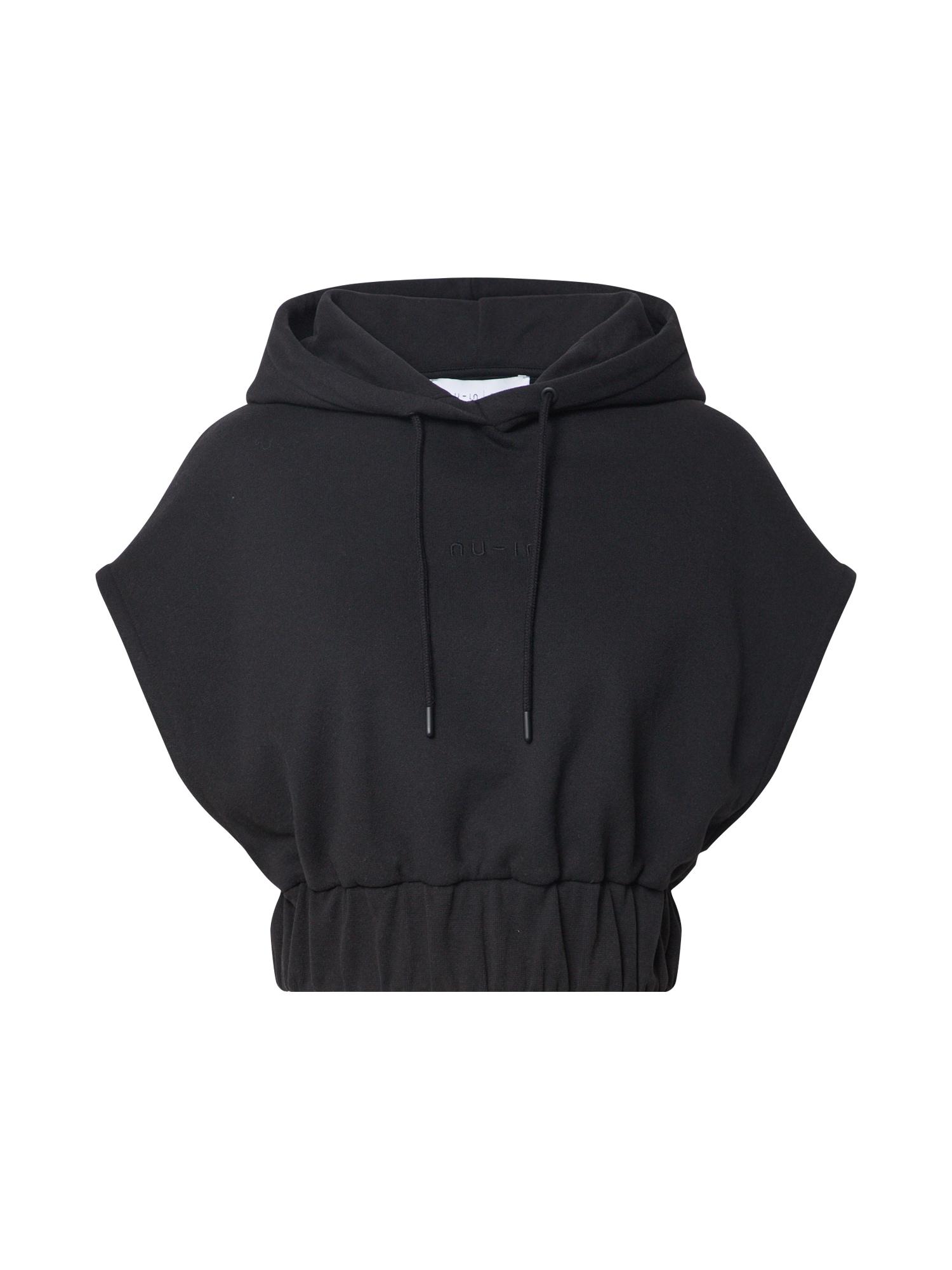 NU-IN Sportinio tipo megztinis juoda