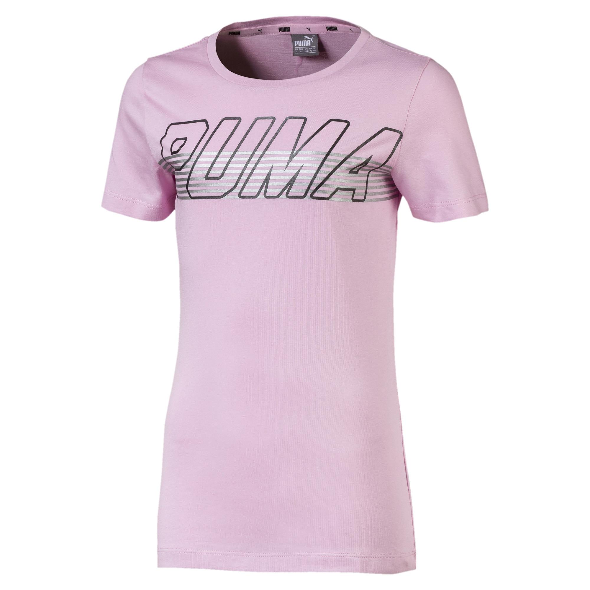 Tričko Alpha Logo Tee G pink PUMA