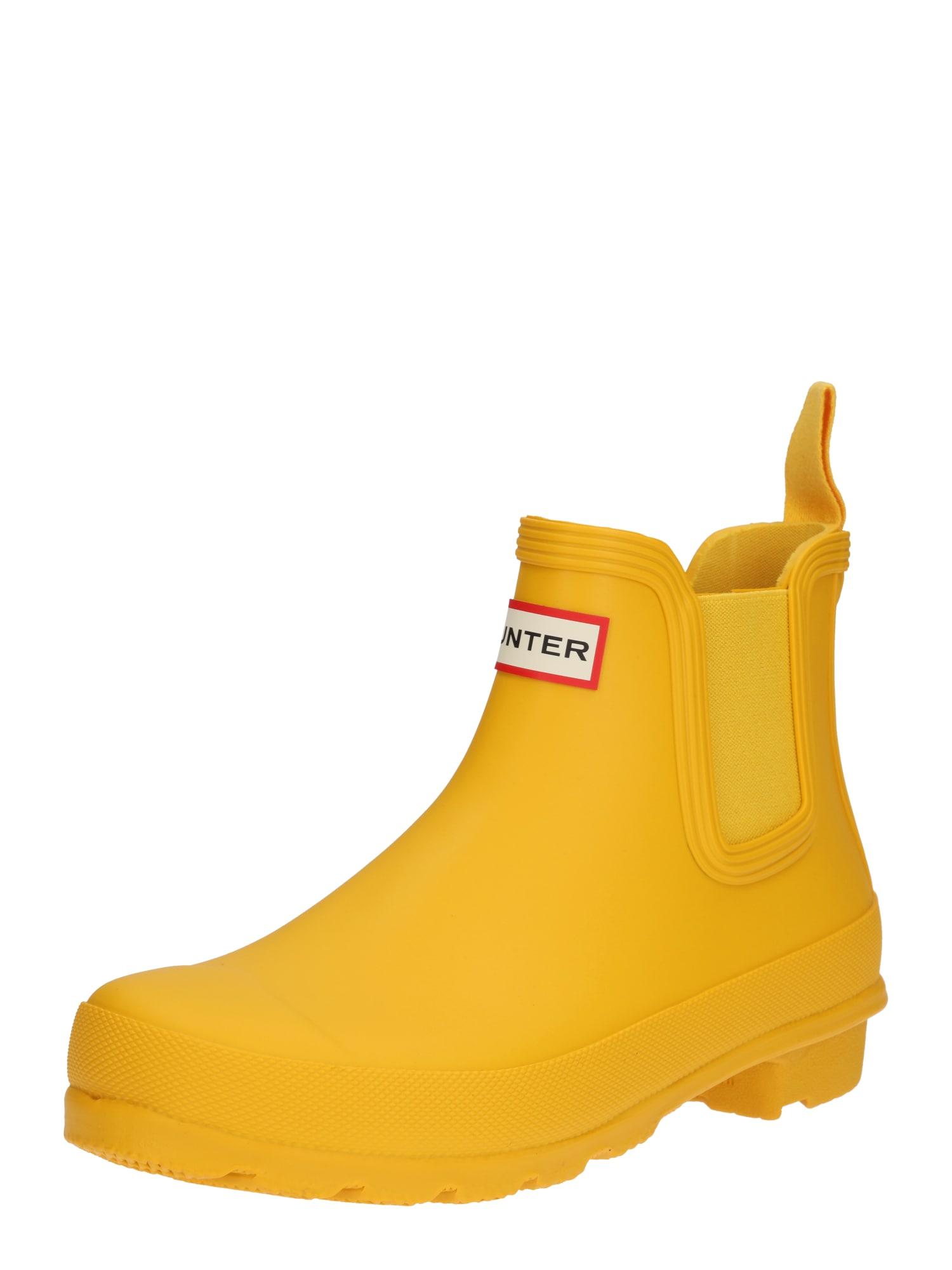 Holínky žlutá HUNTER