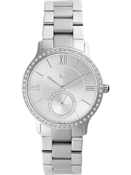 Uhren für Frauen - C Collection Uhr silber  - Onlineshop ABOUT YOU