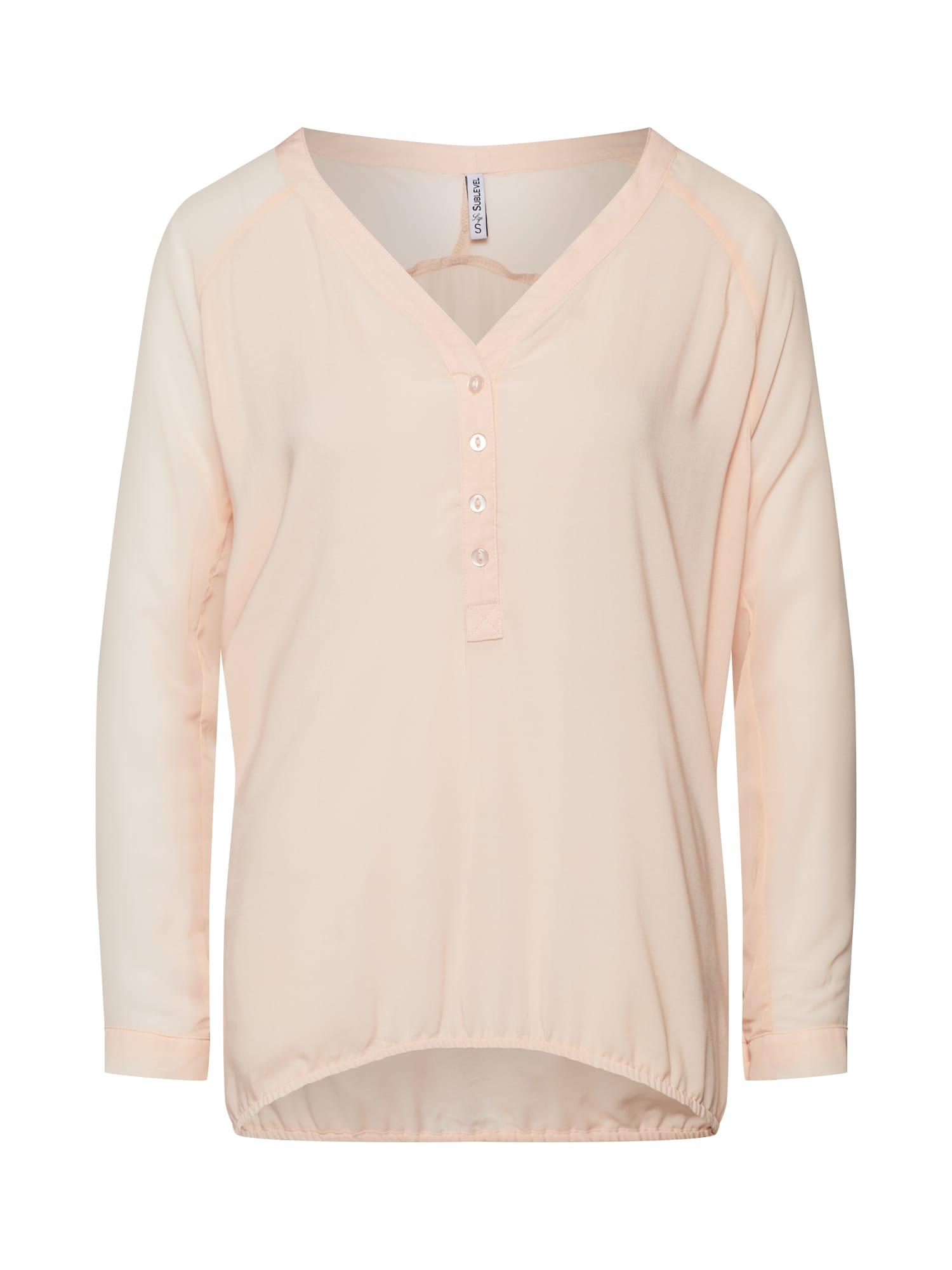 Sublevel Bluză  roz