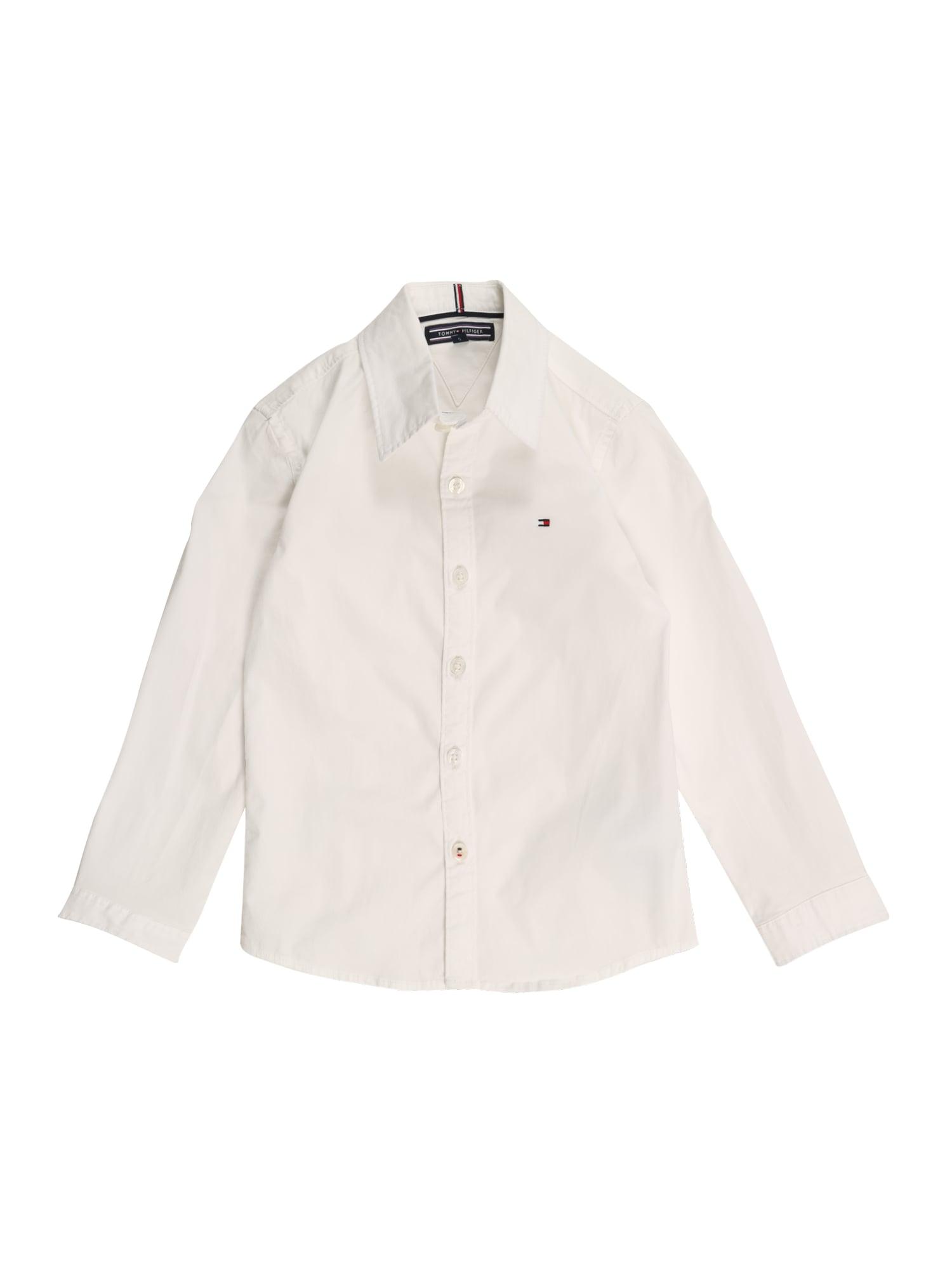 TOMMY HILFIGER Dalykiniai marškiniai balta
