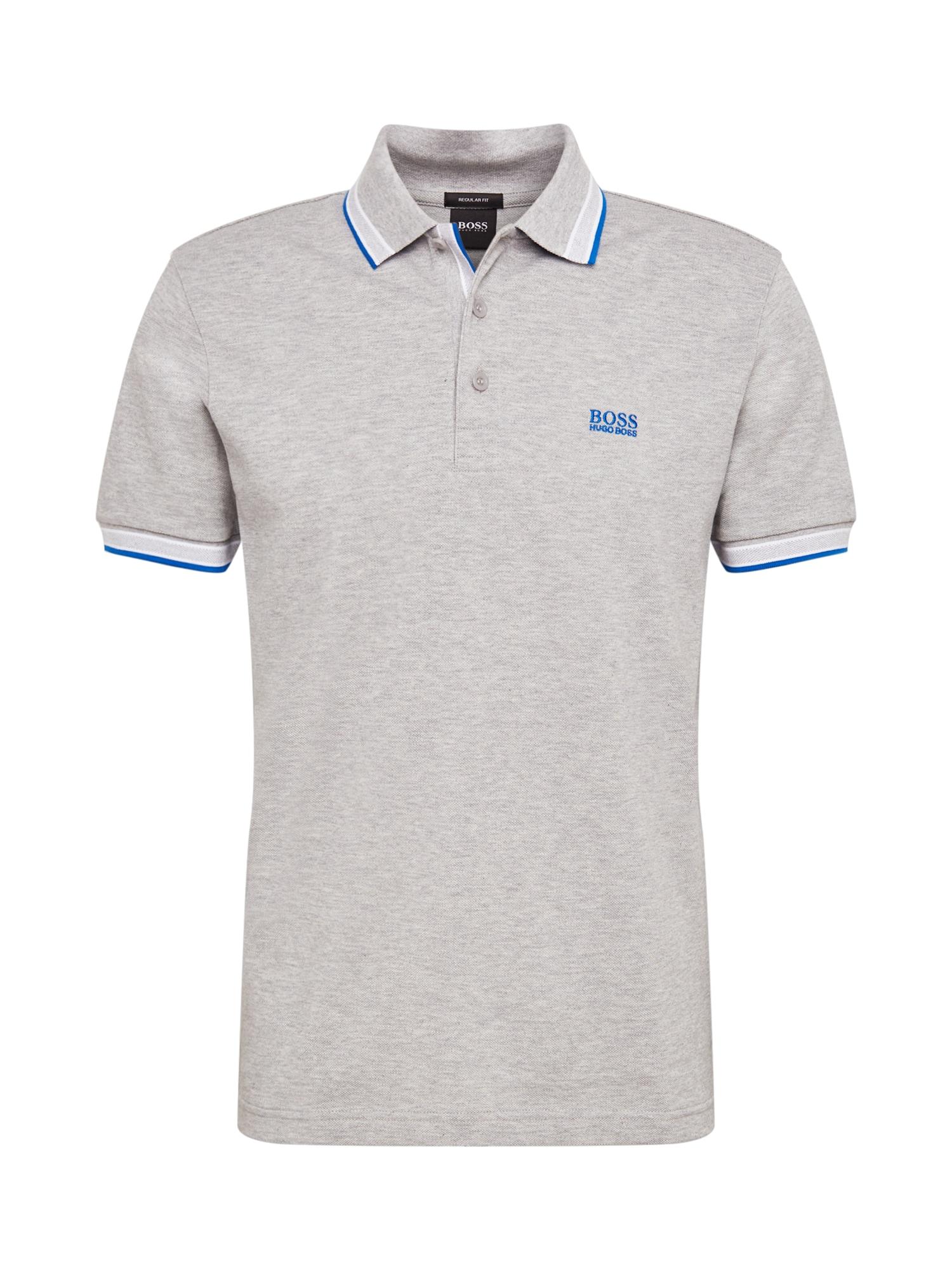 BOSS ATHLEISURE Marškinėliai pilka