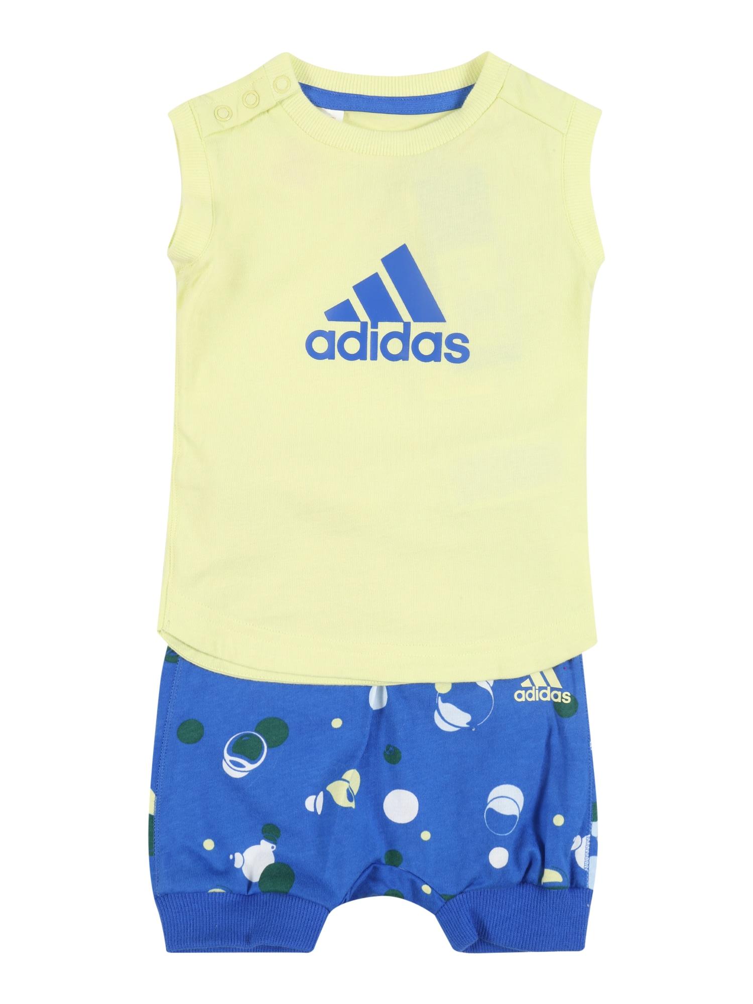 ADIDAS PERFORMANCE Sportinis kostiumas mėlyna / geltona