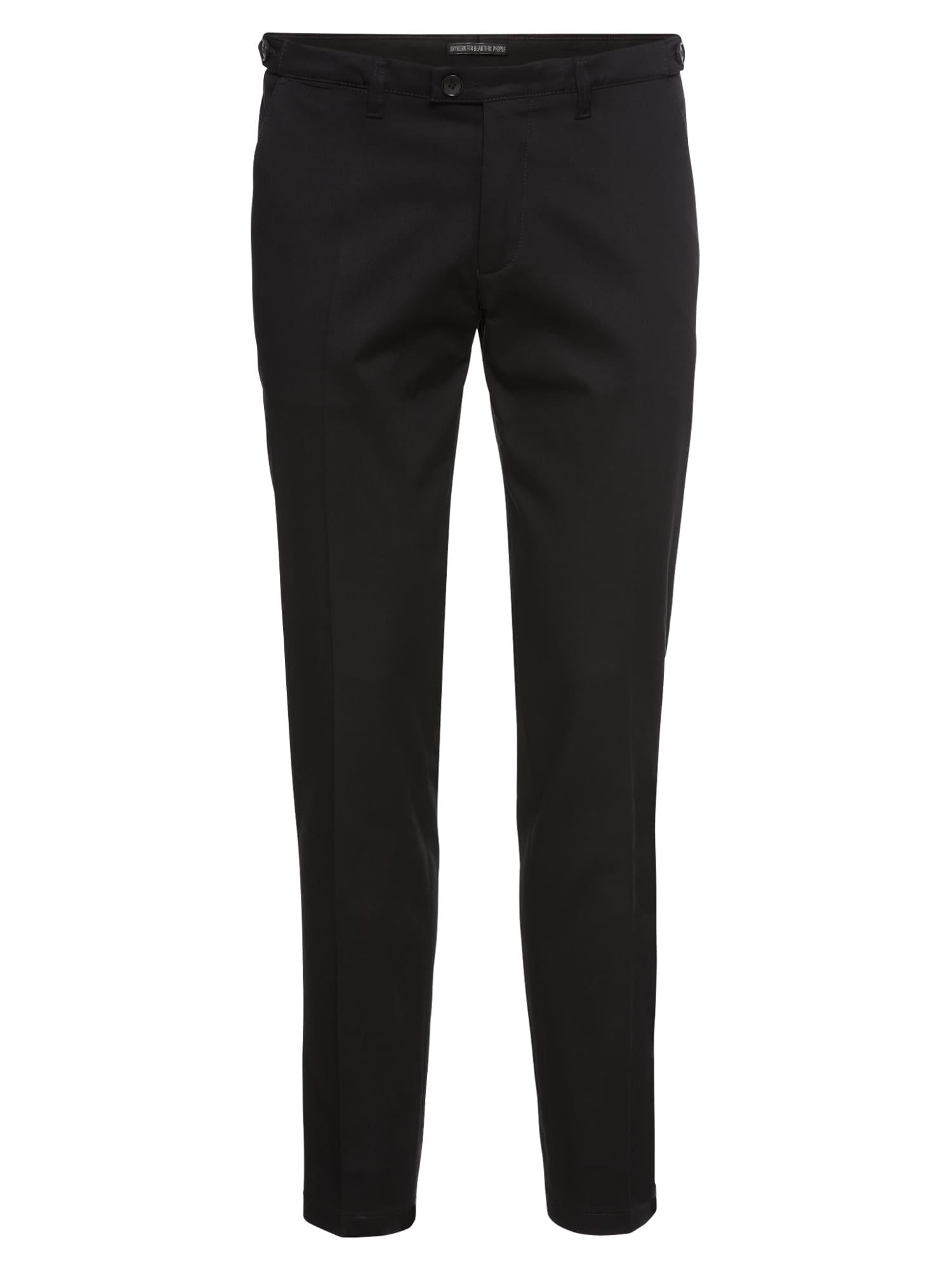 Kalhoty s puky Kill černá DRYKORN